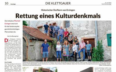 Bericht im Hochrhein-Anzeiger